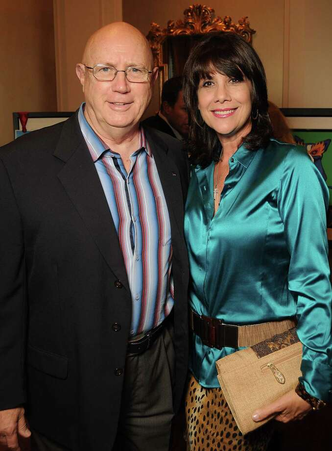 """Late Astros executive Jamie Hildreth, pictured with wife Theresa, was called a """"cheery, upbeat guy"""" by Drayton McLane, one of three owners Hildreth worked for during his long tenure with the team. Photo: Dave Rossman, Freelance / © 2013 Dave Rossman"""