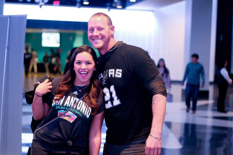 Fans cheered the San Antonio Spurs into victory in the team's first game back from the Rodeo Road Trip on Wednesday, March 1, 2017. Photo: Jason Gaines, For MySA.com