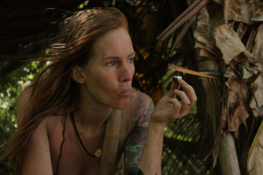 Discovery Channel s  Naked and Afraid,  Houstonian Alana Barfield Photo: Chris Horangic, Discovery