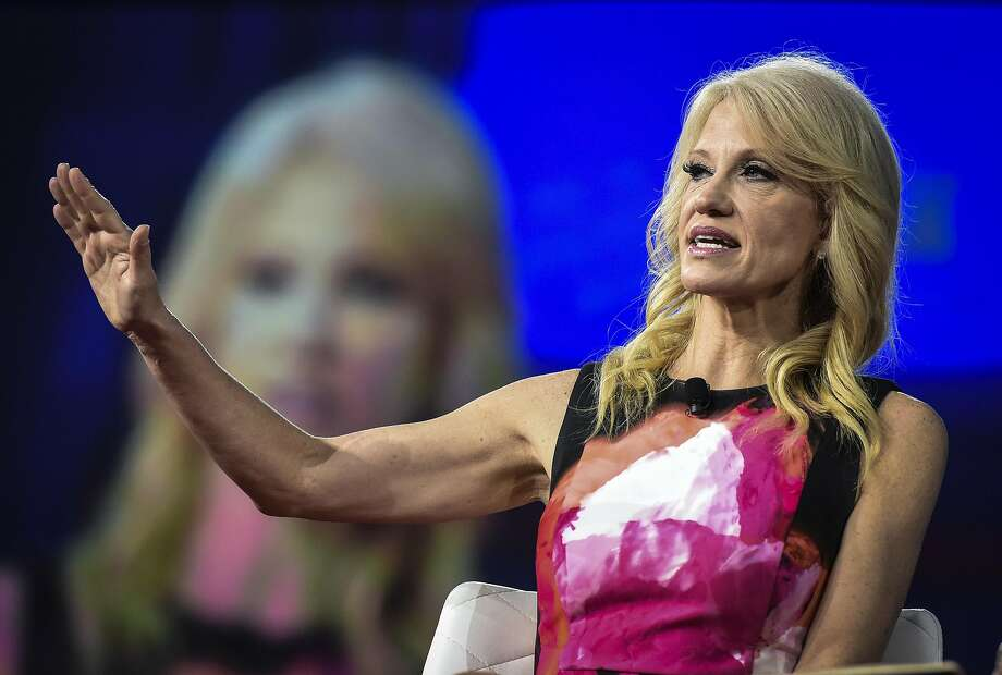 Presidential adviser Kellyanne Conway, who has questioned the use of empirical evidence, is among those who have defended the White House's views on global warming and other issues that concern the scientific community. Photo: Bill O'Leary, The Washington Post