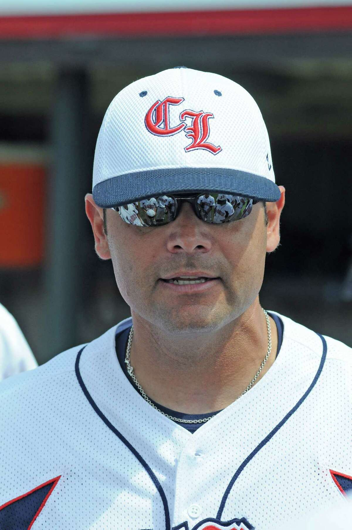 Clear Lake baseball coach Rupert Jaso. Clear Lake recorded a 3-1 District 24-5A home win against Alvin on 3-19-11.