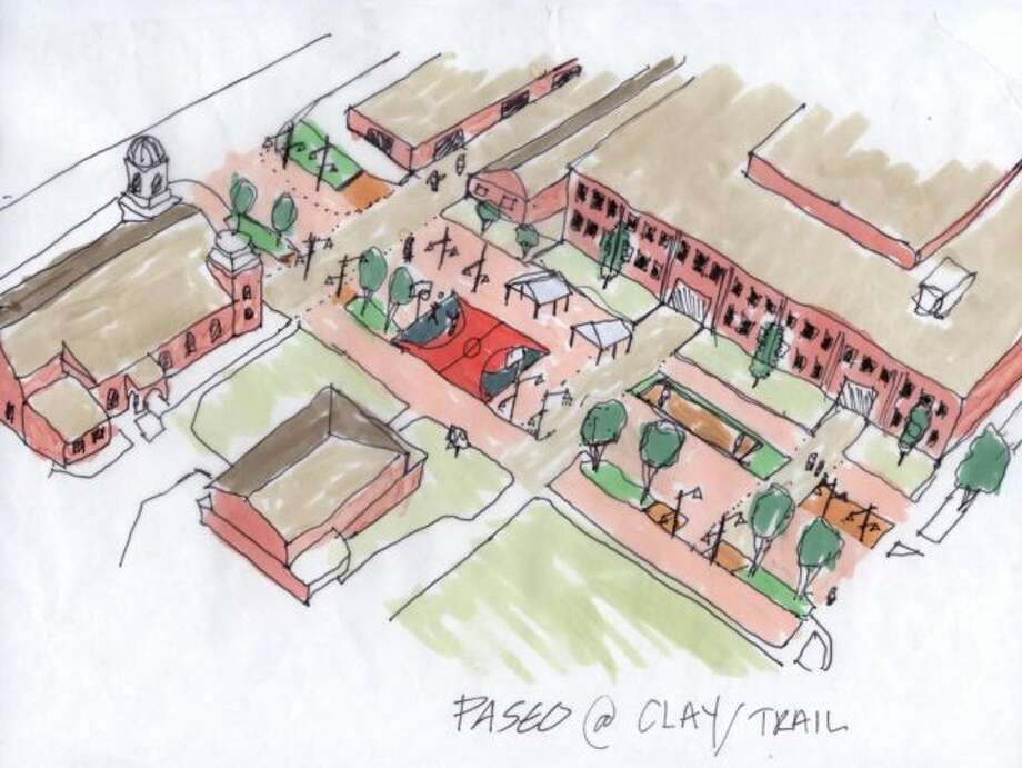 "Asakura Robinson employed a design strategy that included known successful street types, such as the ""paseo."" Photo: Rice Design Alliance"