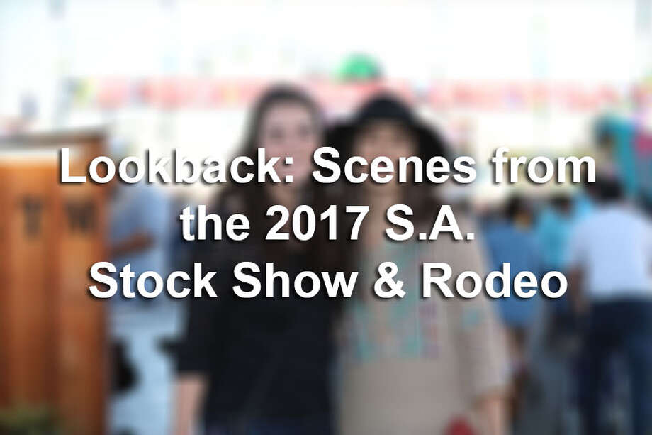 """Whether it was the lure of rodeo fun, a hankering for handmade dips and soups or a desire to squeeze in an """"authentic"""" Texas experience, thousands made their way to the San Antonio Stock Show and Rodeo before the season closed on Sunday, Feb. 26, 2017. Click through the slideshow to see who made it to the closing weekend. Photo: Marco Barza"""