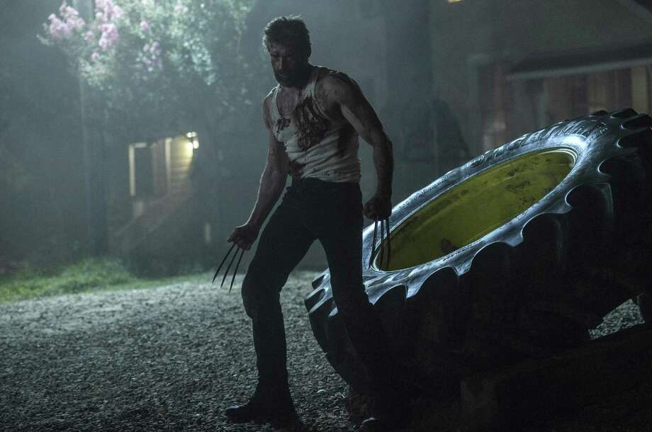 """Hugh Jackman returns as X-man Wolverine in """"Logan,"""" which takes a fresh approach to the character. Photo: 20th Century Fox / © 2017 Marvel. TM and © 2017 Twentieth Century Fox Film Corporation. All rights reserved. Not for sale or duplication."""