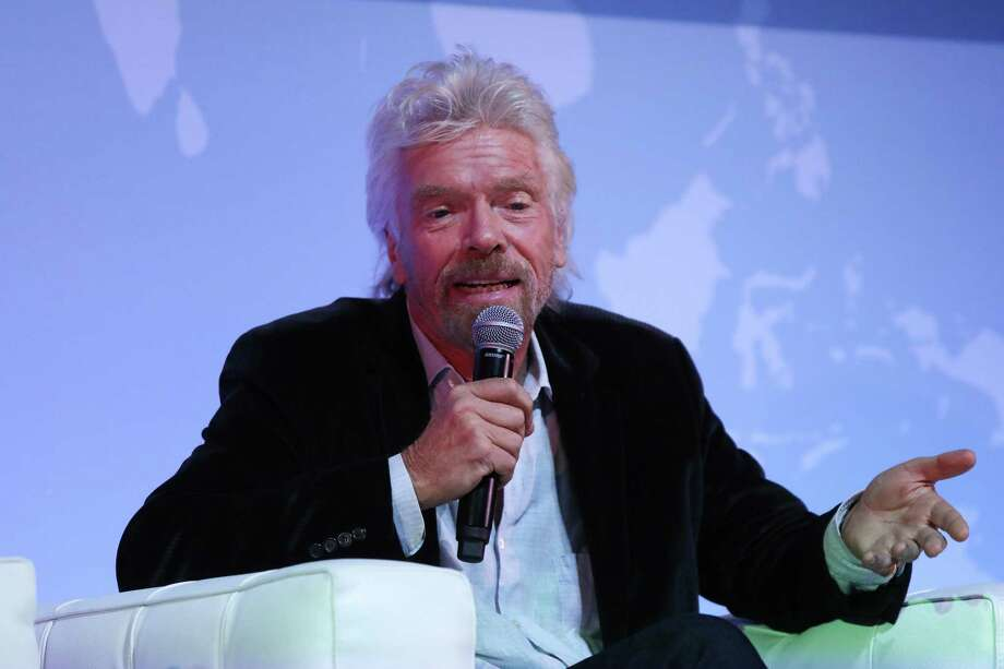 """Richard Branson says Virgin Orbit fits into his ethos of opening up the cosmos """"by manufacturing vehicles of the future, enabling the small satellite revolution, and preparing commercial space flight for many more humans to reach space and see our home planet."""" Photo: Chris Ratcliffe /Bloomberg News / © 2016 Bloomberg Finance LP"""