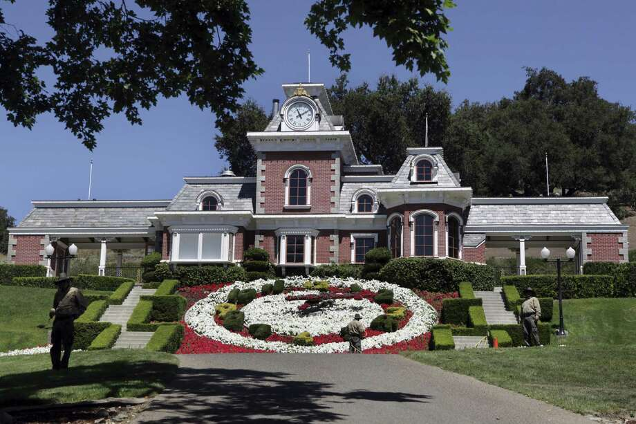 Michael Jackson's former home has been renamed Sycamore Valley Ranch and is back on the market with an asking price of $67 million. Photo: Associated Press /File Photo / 2009 AP