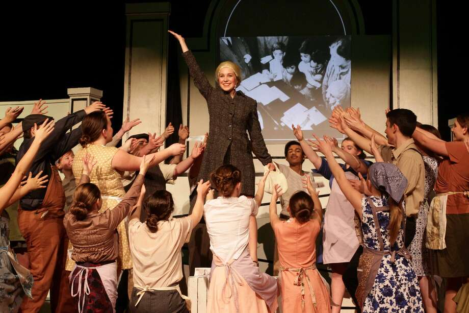 """Evita"" at Cairo-Durham High School Photo: C.A. Moore Photography, Provided"