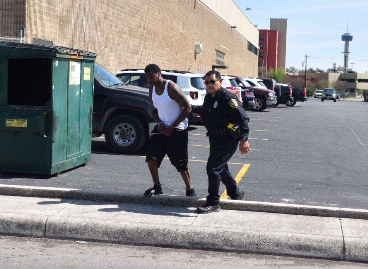 Kerry Gittens, a convicted murderer who fled from authorities in the midst of his, trial was captured by authorities in a motel in Katy, Texas, and escorted into the Bexar County Magistrates Office on Thursday, March 2, 2017.