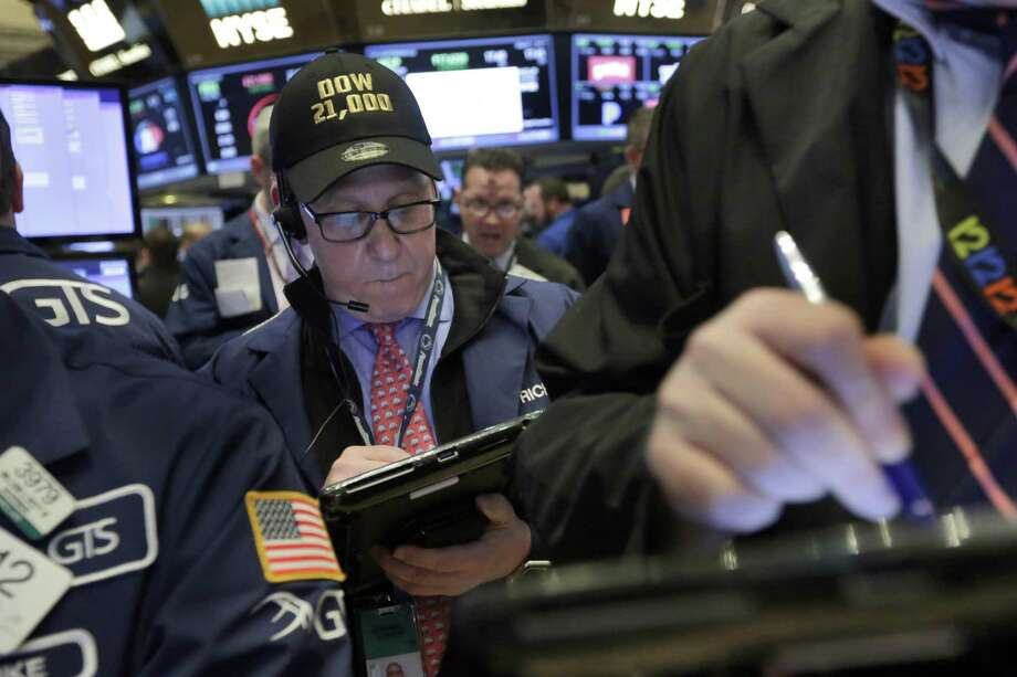 The Standard & Poor's index has leapt 11.6 percent since Election Day, packing more gains into four months than it's had in five of the last six full years. It dipped a bit Thursday, but it's still close to its record set a day earlier. Photo: Richard Drew /Associated Press / AP