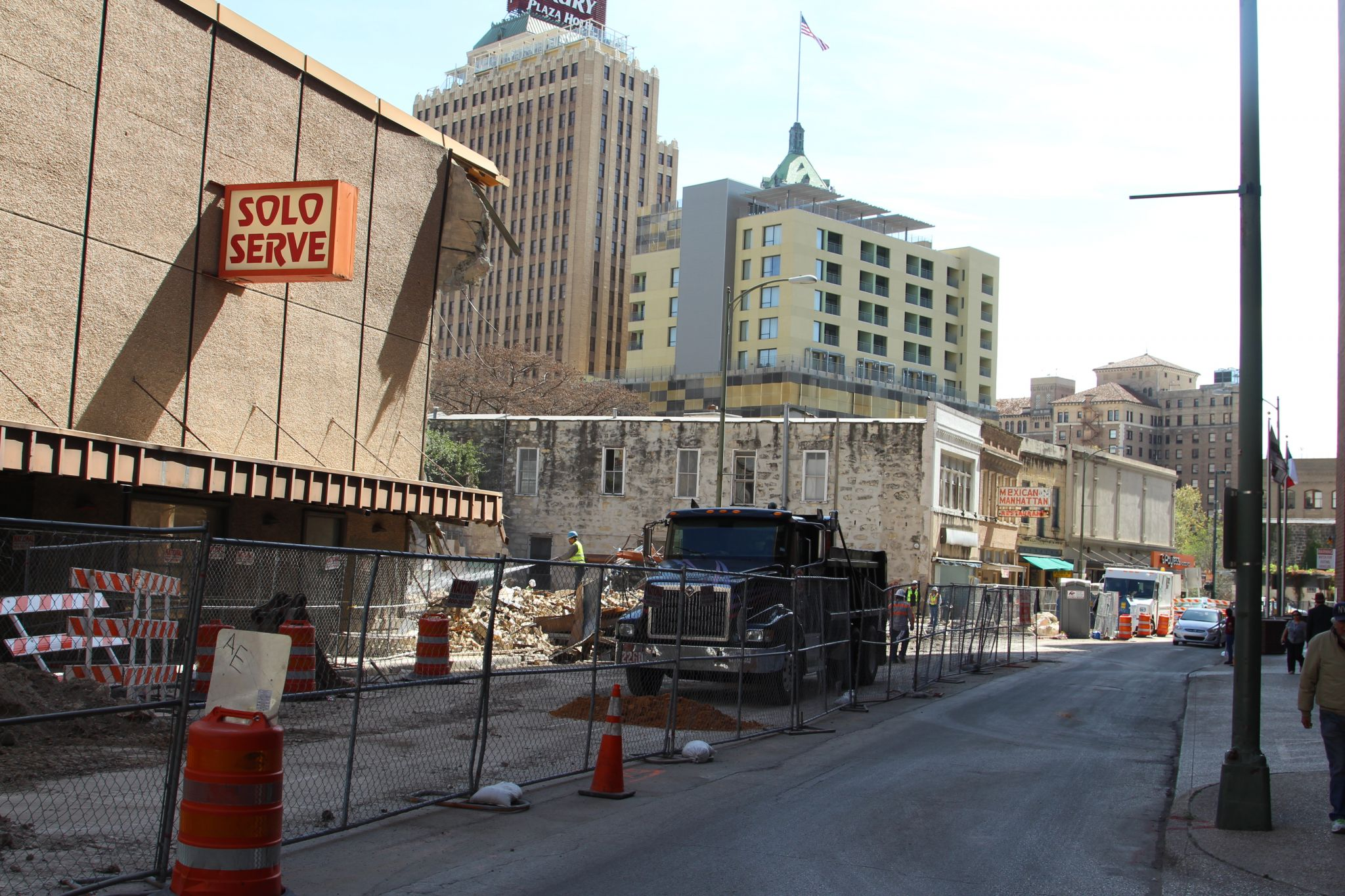 Historic Downtown Solo Serve Building Demolished Makes