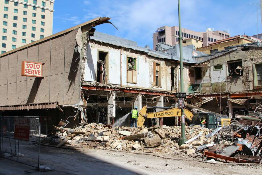 Historic Downtown Solo Serve Building Demolished Makes
