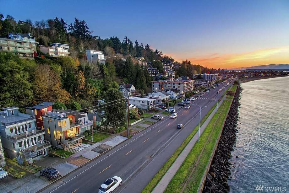 1766 Alki Ave. S.W., listed at $1,799,800. See the full listing here.  Photo: Photos By Clarity Northwest Photography