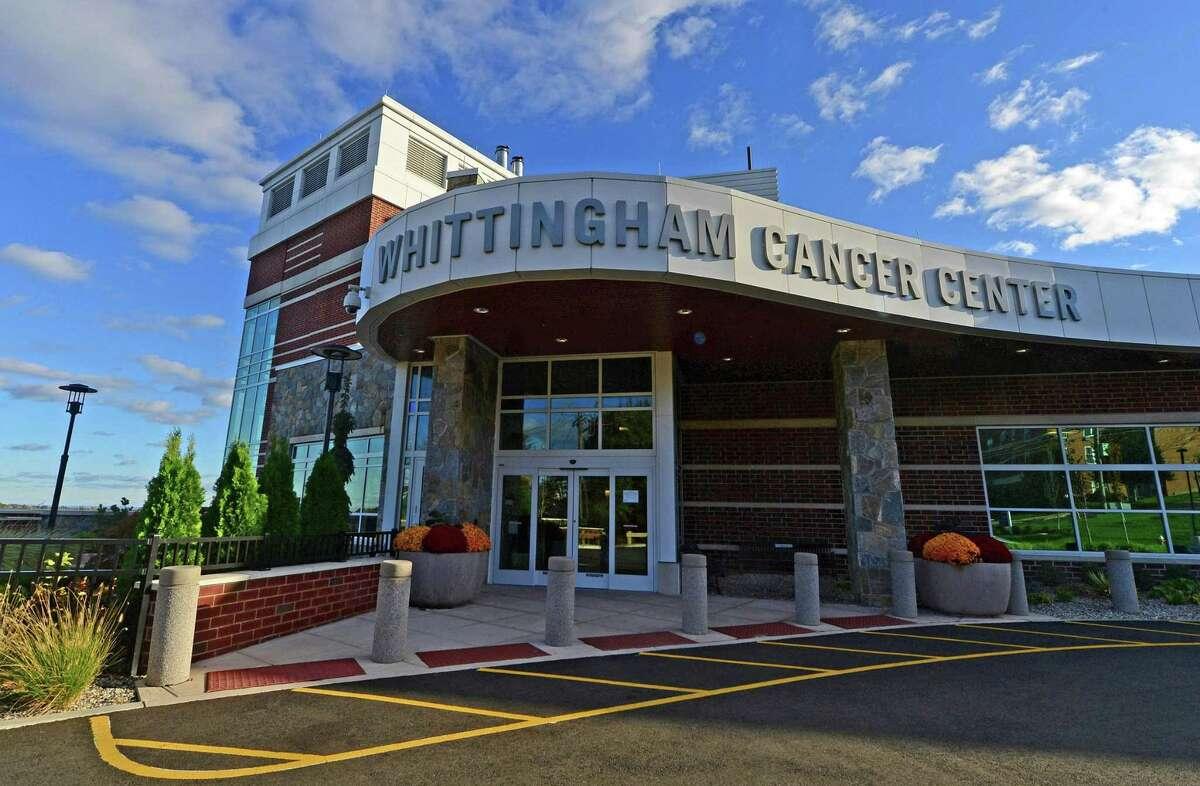 The new Whittingham Cancer Center at Norwalk Hospital.