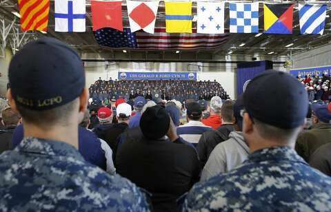Trump on the USS Gerald Ford - Laredo Morning Times