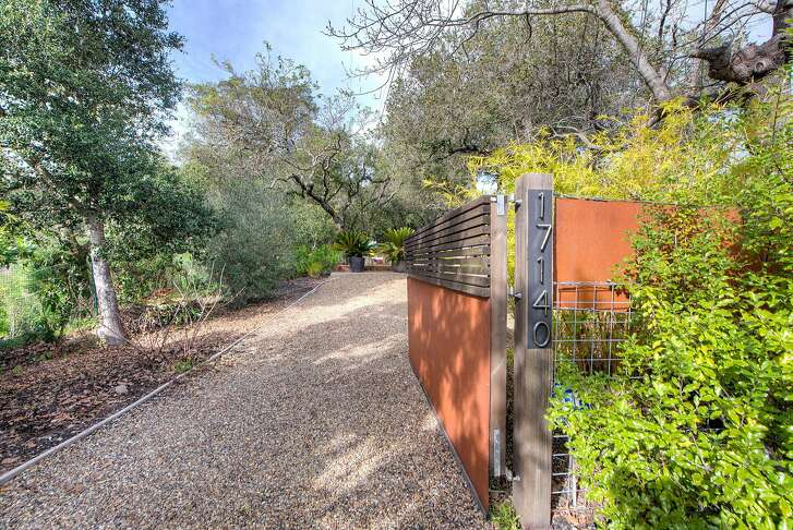 17140 Keaton Ave. is a four-bedroom, four-bathroom contemporary set on a .65-acre lot in Sonoma.