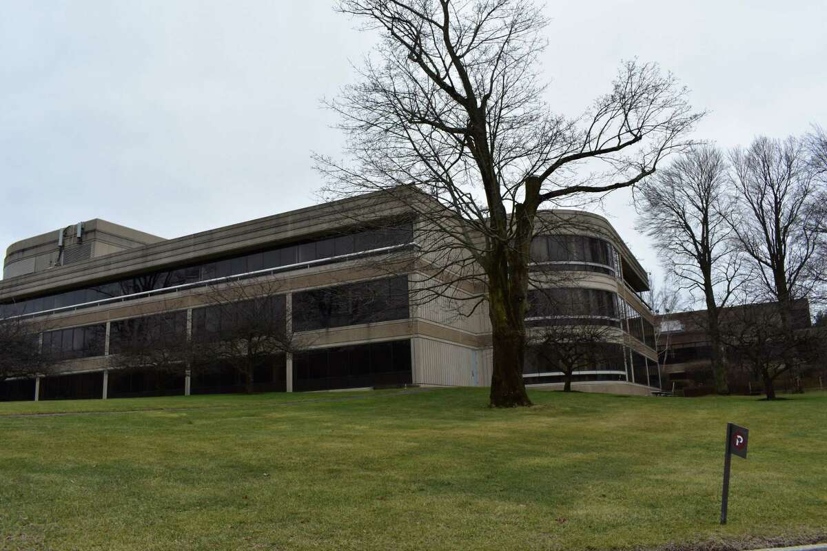 The former treasury offices of General Electric at 201 High Ridge Rd. in Stamford, Conn., with the company relocating employees to Norwalk in January 2017.