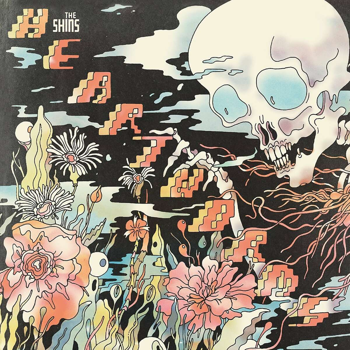 The Shins' latest release is 'Heartworms'