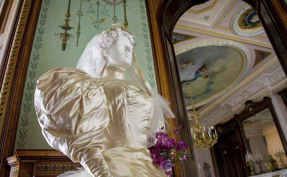 The Lockwood-Mathews Mansion Museum will open its 2017 season with a new exhibition titled, Wedding Traditions and Fashion from the 1860s to the 1930s. Photo: Sarah Grote / Contributed Photo / 2017