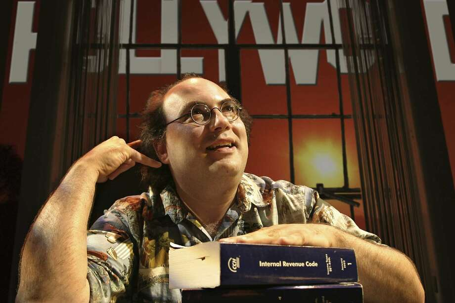 "Josh Kornbluth stars in ""Love and Taxes,"" based on his monologue. Photo: Mark Leialoha"
