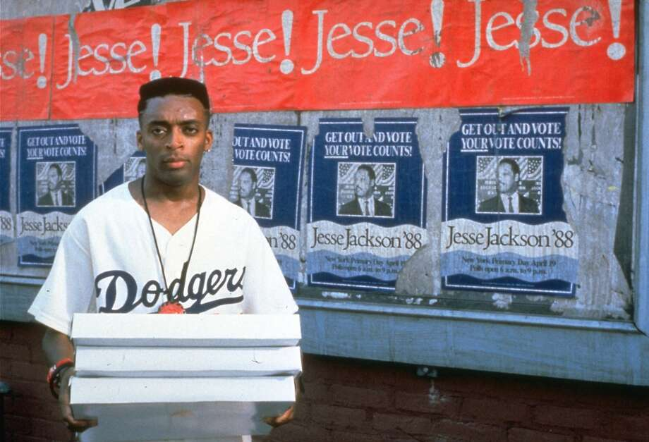 "Director/producer/Oscar-nominated screenwriter Spike Lee plays Mookie in ""Do the Right Thing."" Photo: AP"