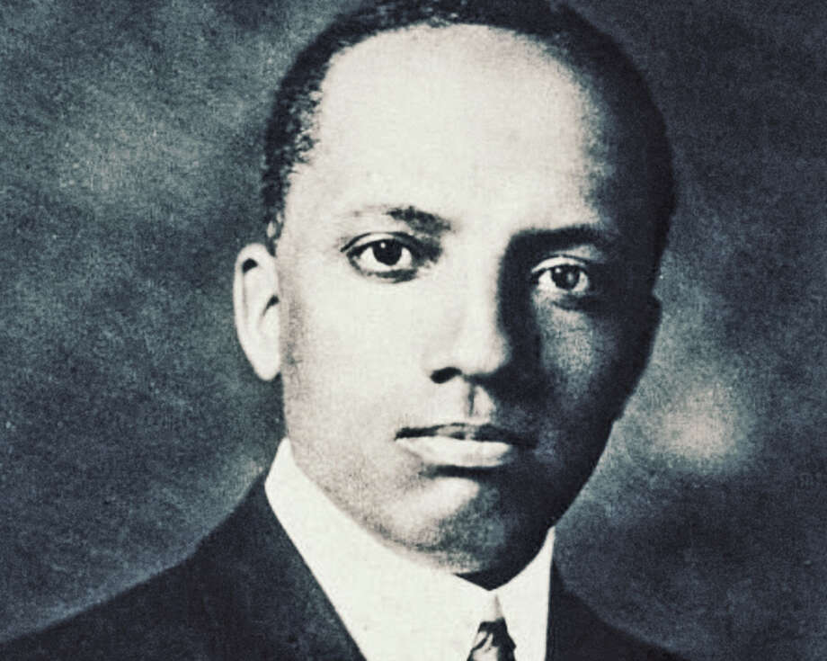 Carter G. Woodson. Photo: Hulton Archive, Getty Images