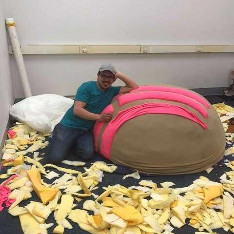 Peachy Concha Beanbag Sculpture More Than A Piece Of Art San Ncnpc Chair Design For Home Ncnpcorg