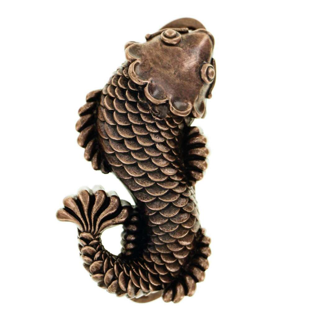 Get a grip on door knockers an easy way to offer a whimsical this fish out of water becomes a striking accompaniment to any front door crafted by rubansaba