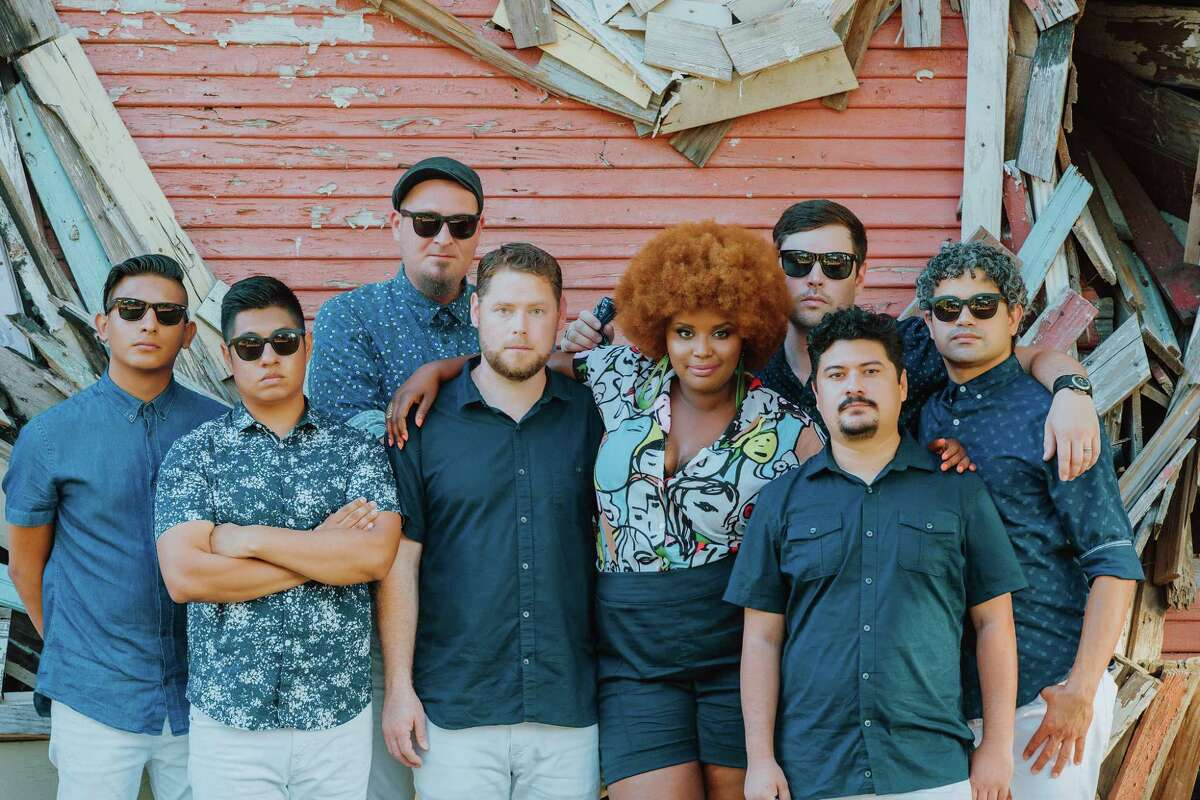 The Suffers perform with the Houston Symphony on June 17 at the Pavilion.