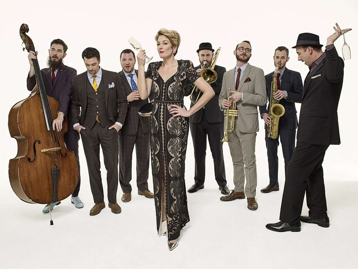 The Hot Sardines, a New York ensemble specializing in jazz styles from the first half of the 20th century, performs at the Paramount on a bill with Jason Moran's Fats Waller celebration.