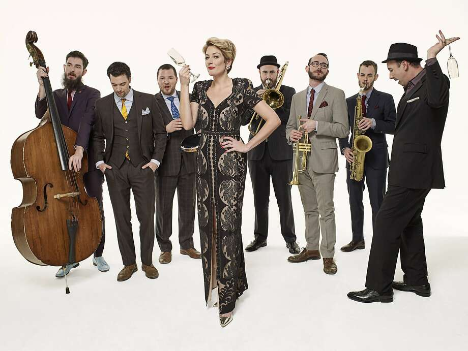 The Hot Sardines, a New York ensemble specializing in jazz styles from the first half of the 20th century, perform at Oakland's Paramount Theatre on a bill with Jason Moran's Fats Waller celebration. Photo: Courtesy The Hot Sardines