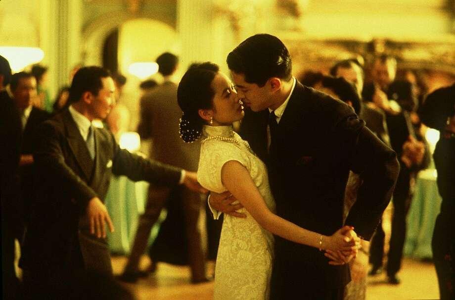 "Scene from the film ""Joy Luck Club."""