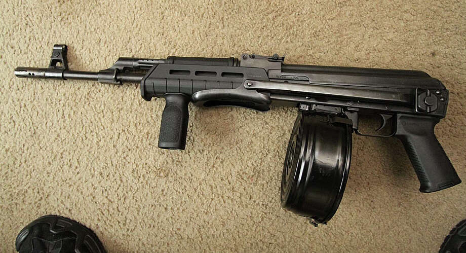 Investigators recovered this AK-47-style rifle from the bedroom closet of a Seattle home occupied by Devontea Rosemon. Rosemon, 25, faces years in federal prison for gun and drug crimes. Photo: Department Of Justice
