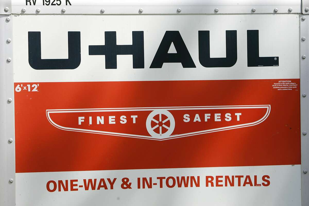 A man in a U-Haul led law enforcement on a car chase Wednesday night.