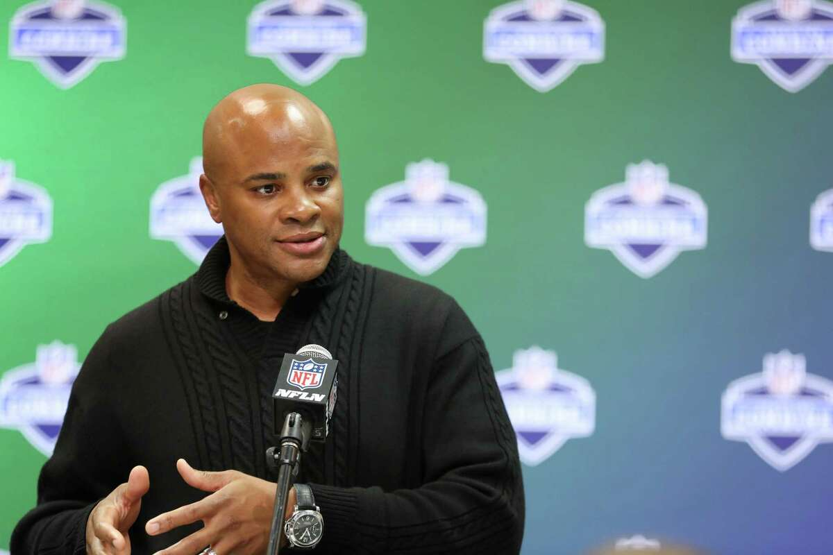 General manager Rick Smith notes the Texans have had success in keeping several first round picks.