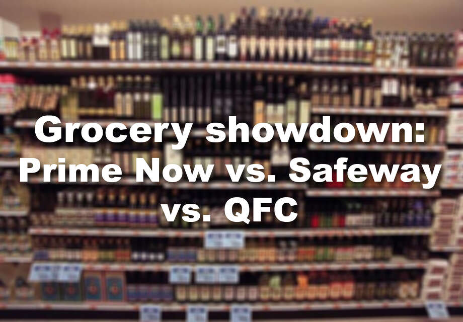 Grocery showdown delivery edition Amazon vs QFC vs Safeway