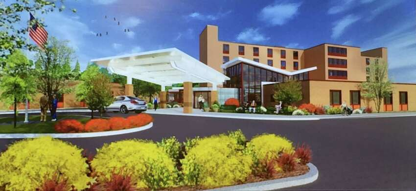 Albany County nursing home rendering (Photo by Amanda Fries / Times Union)