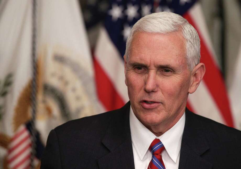 Vice President Pence would likely say he's just being careful. But does he realize the discriminatory consequences of his rule? Photo: Alex Wong, Staff / 2017 Getty Images