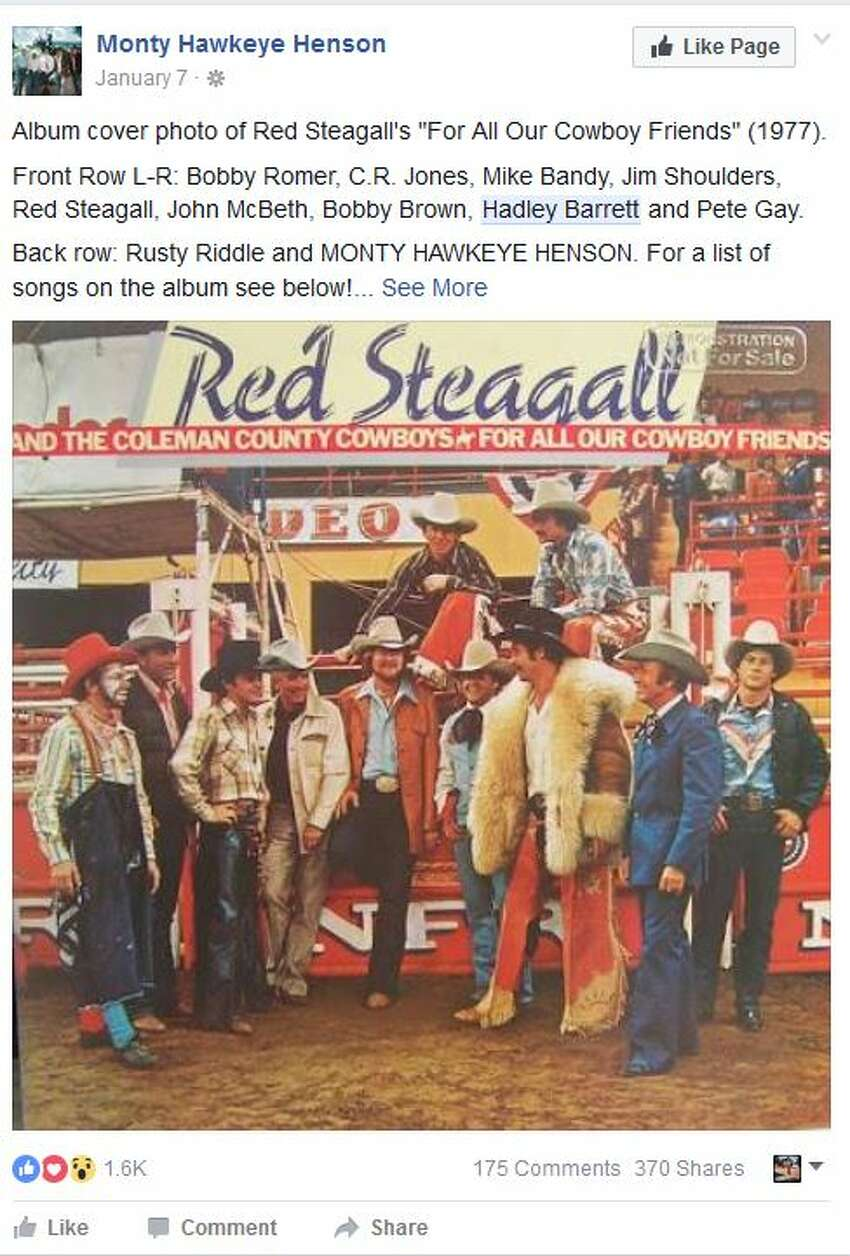 Album cover photo of Red Steagall's