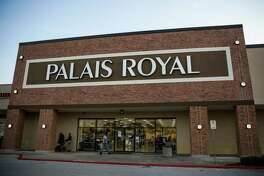 Stage, which owns Palais Royal, says the plunge in crude oil prices contributed to the decline in sales.