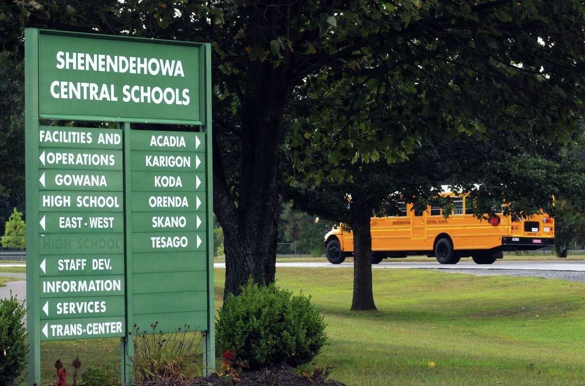 Shenendehowa Central Schools grounds on Wednesday Sept. 9, 2015 in Clifton Park, N.Y. (Michael P. Farrell/Times Union)