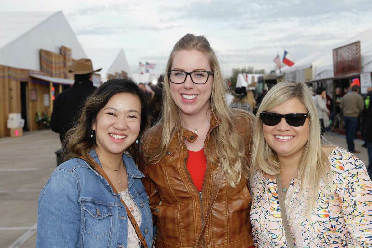 People attend the Houston Livestock Show and Rodeo World'sChampionship Bar-B-Que Contest at NRG Park Thursday, March 2, 2017.