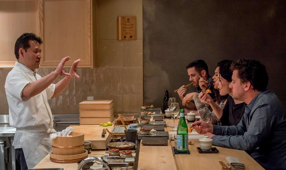 People have dinner at Kinjo in San Francisco. Photo: John Storey, Special To The Chronicle