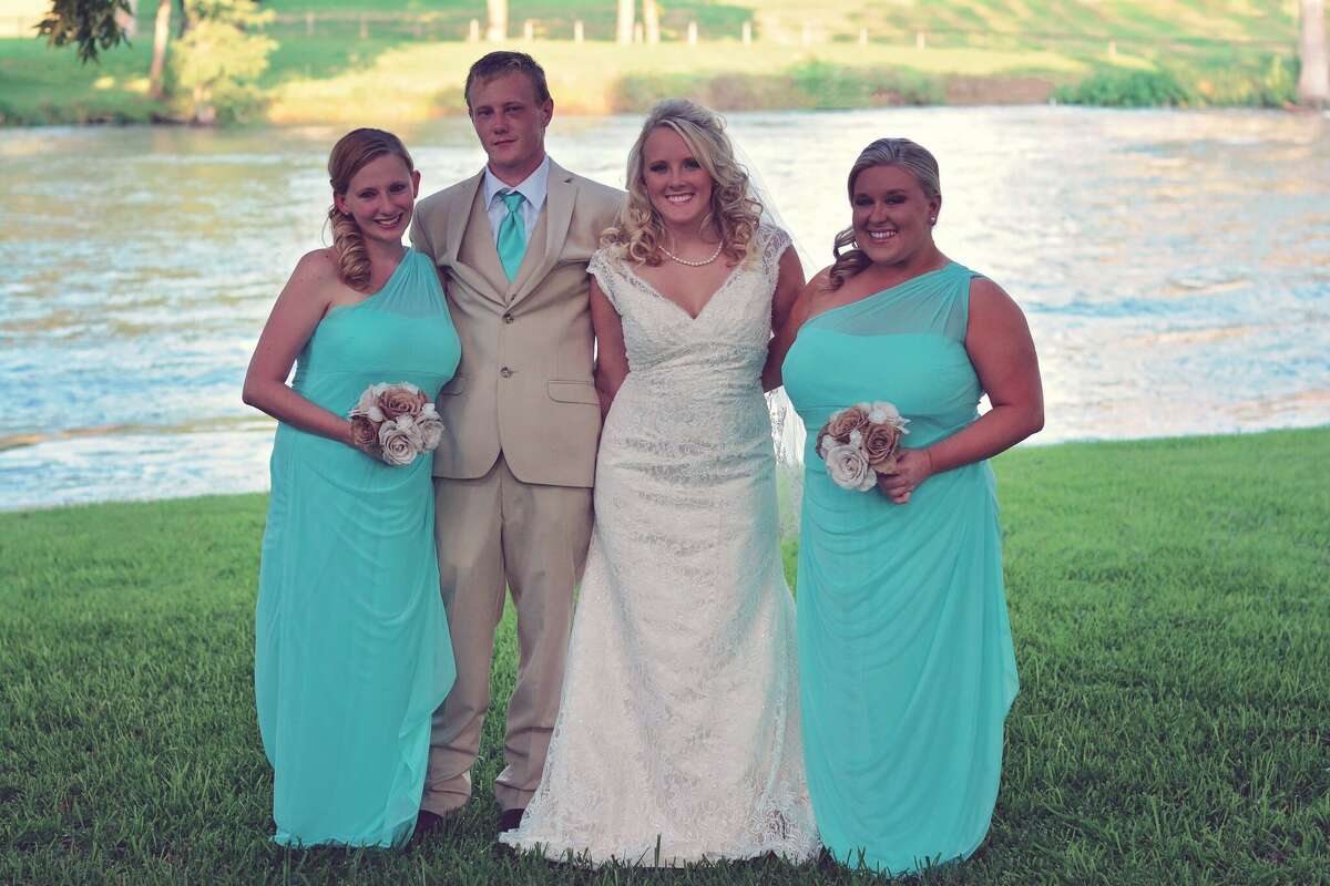 Richard King, second from left, with family at the wedding of his sister, Lauren Hudgens. SLIDESHOW: Unsolved murders and disappearances in Houston's suburbs