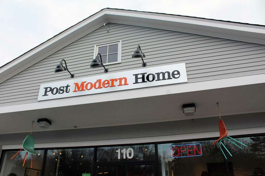 Drew Clark's Post Modern Home, in Darien, Conn., on Feb. 22, 2017. Photo: Justin Papp / Hearst Connecticut Media / Darien News