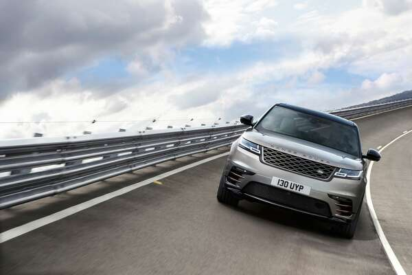 Land Rover has unveiled the 2018 Range Rover Velar at the Design Museum in London, March 1, 2017.
