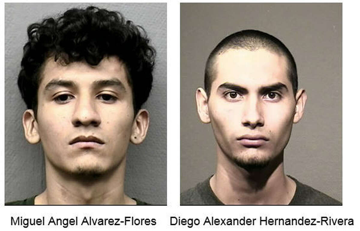 MS-13 Satanic killing Miguel Alvarez-Flores and Diego Hernandez-Rivera. two known members of the MS-13 gang from El Salvador living illegally in Houston, are charged with murder and kidnapping in the death of one teen girl, and the captivity of another. Prosecutors said the pair sacrificed the murdered girl in a Satanic ritual in February.