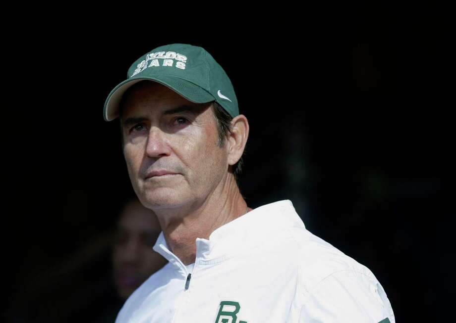 FILE - In this Dec. 5, 2015, file photo, Baylor coach Art Briles stands in the tunnel before the team's NCAA college football game against Texas in Waco, Texas. Former Baylor coach Briles conceded months ago that the sexual assault scandal that led to his firing likely ended his career. That's not the case for some of his former assistants, including his son Kendal Briles. (AP Photo/LM Otero, File) Photo: LM Otero, STF / AP