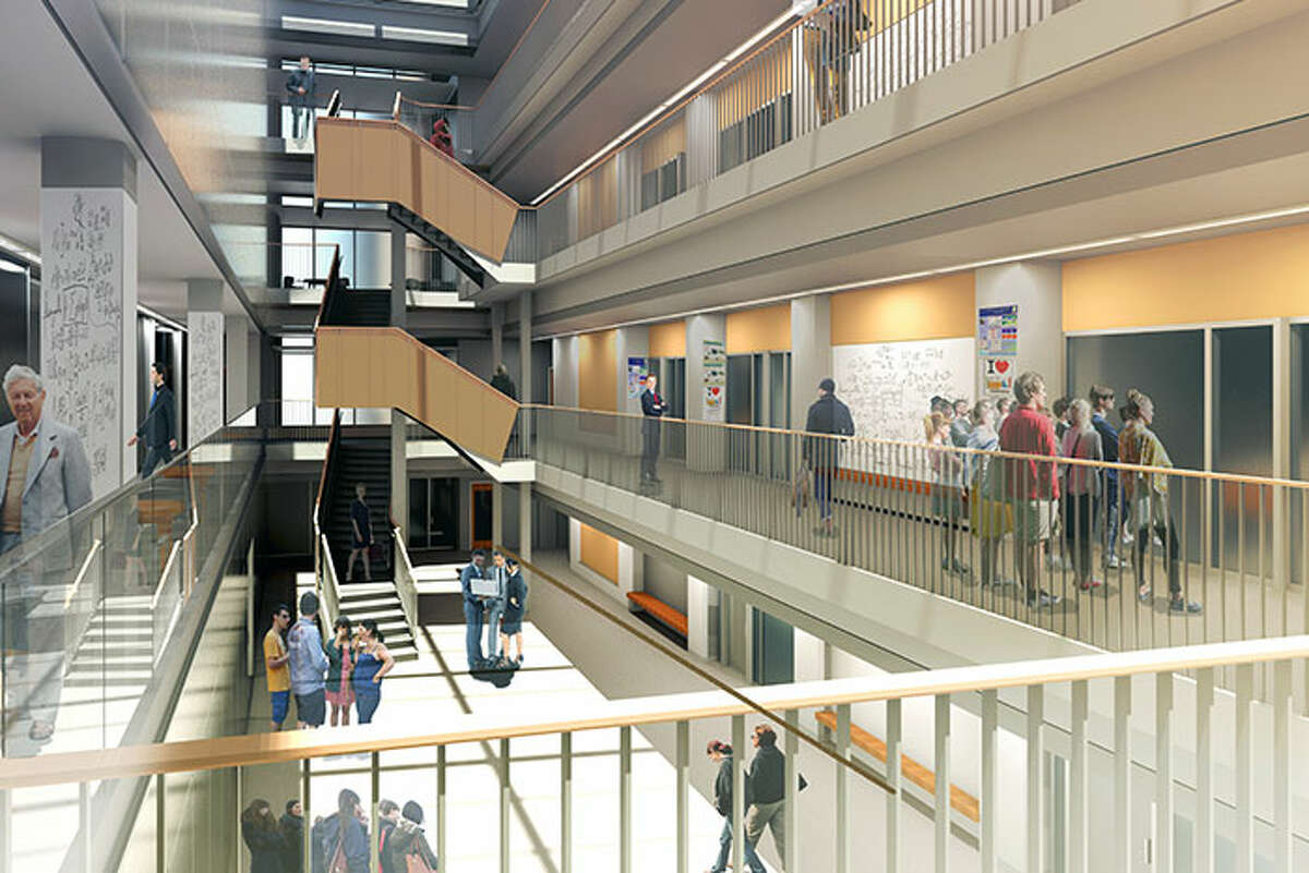 A rendering of Union College's proposed $100 million Science and Engineering Center expansion and renovation. (Provided image)