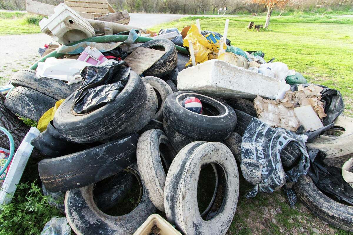 The 32nd Annual Great Texas River Cleanup is slated for March 4 in San Marcos, and event planners are hoping for a large turn out, they said on Facebook. Photos pictured are from last year's clean up.