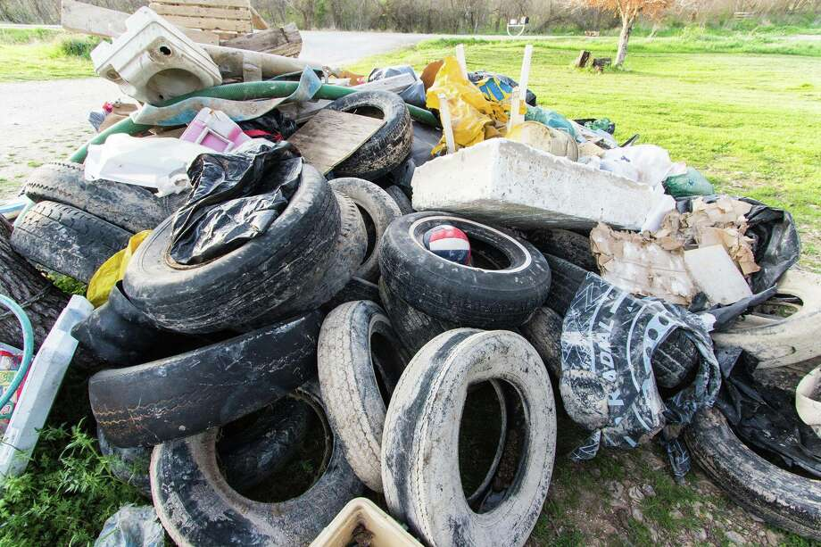 The 32nd Annual Great Texas River Cleanup is slated for March 4 in San Marcos, and event planners are hoping for a large turn out, they said on Facebook. Photos pictured are from last year's clean up. Photo: Courtesy/Annual Great Texas River Clean Up